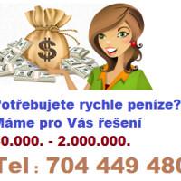 Soukromá expres půjčka až 2.000.000.