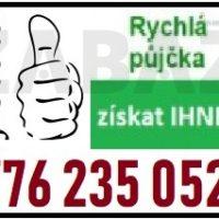 Půjčka ihned bez registru - 776235052